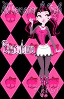 Draculaura Pin Up by kiss61