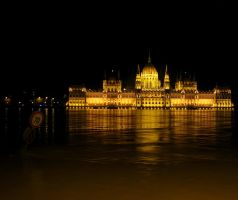 Danube Invasion Of Budapest 1 by stefanpriscu
