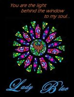 Amys Rose Window by Lady-Blue