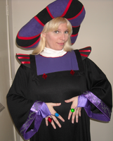 My Revamped Frollo Costume by ChristineFrollophile