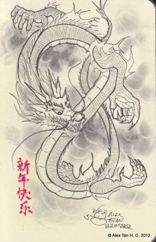 Chinese Dragon by aleksitanninen
