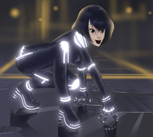 Tron is back by Bariarti