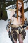 Skyrim cosplay - Winter shooting by emilyrosa