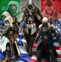 Assassins Creed by mycynderellaman