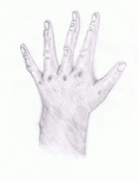 Realistic Hand by Ravenblade234