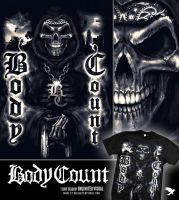 BodyCount T-Shirt Design by unlimitedvisual