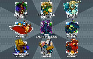 Shovel Knight - Updated Stage Select by KipoyTheNarwhal