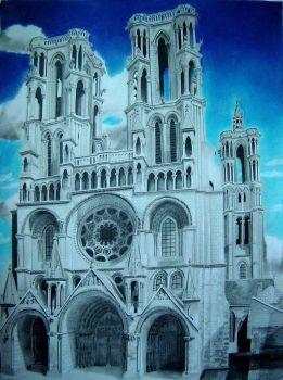 Laon Cathedral I by msilvestre