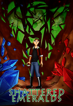 Shattered Emeralds - Nuzlocke Cover Page by EmbersOfFlaze