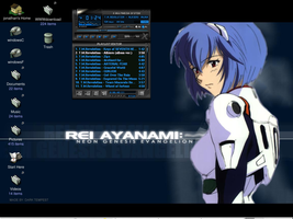 Rei Ayanami screenshot by AchisutoShinzo