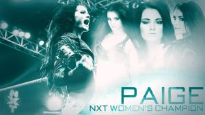 WWE NXT Diva Paige Custom Wallpaper by BullCrazyLight