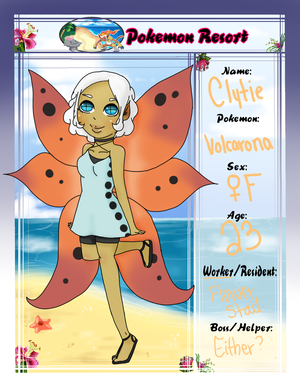 Pokemon Resort - Clytie the Volcarona