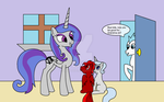 Luneria's time to Foalsit by Bioblood