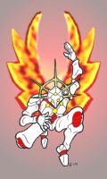 Robot Angel of Fire by pittstop