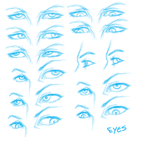 Eye Reference by Hexterian