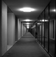 Square Hallway by oceanbased