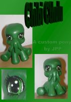 Chibi Cthulu Custom by JoshsPonyPrincess