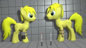 [Gmod/SFM ponies DL] OC Commission: Lemon Poneh by Benno950