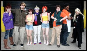 ACEN 2012 - Pokemon Gym Leaders by iamatmyhouse