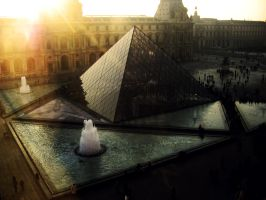 louvre by mi0ne
