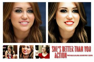 She's Better Than You Action by PartyInLalaLand