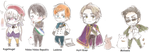 APHetalia: New Micronations by Akazukin-Cruz
