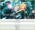 Miku and Rin Journal Skin by double-rainbow-chan