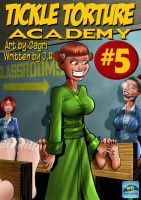 Tickle Torture Academy 5 Cover by MTJpub