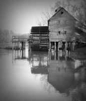 Old watermill by gummaid