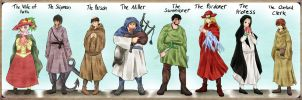 The Canterbury Tales by Eljiasan