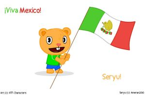 Seryu Wallpaper Mexico by HTF-Characters