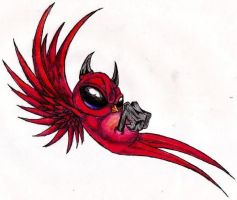 devil swallow by twisted-east