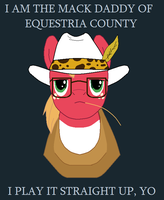 The Mack Daddy of Equestria County by saffronpanther