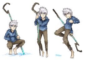 Jack Frost in X-over Skecth by kuroshinki
