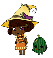Fruit Witch by papyrus-tree