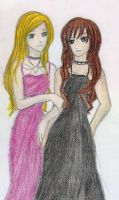 Rose and Lissa by cristinaice