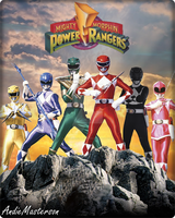 Mighty Morphin Power Rangers 1 by AndieMasterson