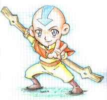 Chibi Aang by shadow-shasuka