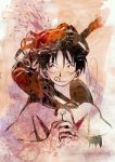 Luffy + Crab by devilsxprince