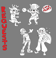 Request Pile by Manicfool