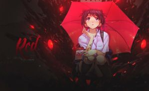 Red Umbrella by GreenMotion
