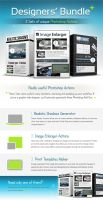 Designers Bundle, Professional Actions Pack - 3in1 by Giallo86