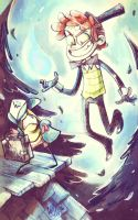Bipper and... Dipp Cipher? by dragon-flies