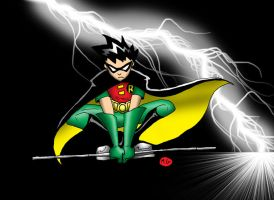 Teentitans: robin by teentitans