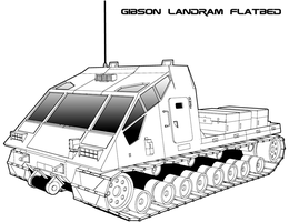 Traveller: Gibson Flatbed Landram by biomass