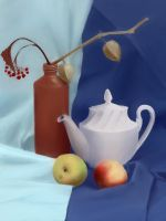 still life practice by Legallydead