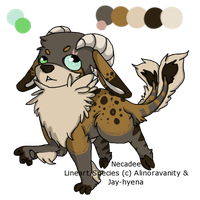 *New Species* Necadee Auction by alinoravanity
