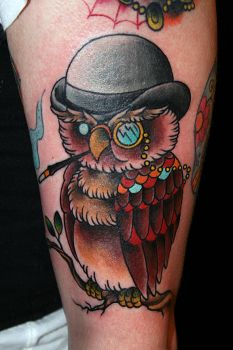 Mr. Owl by MrTat2