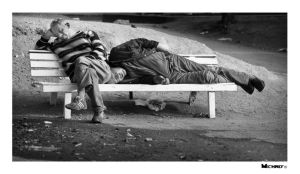 homeless nap by michref