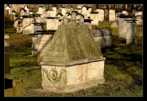 The Cemetery At The Remuh Synagogue In Cracow - 2 by skarzynscy